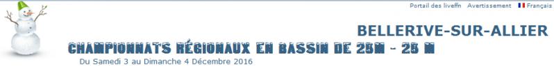 Championnat d'Auvergne 2016