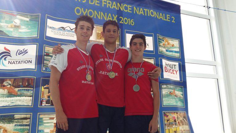 Championnats de France N 2 été à Oyonnax les 8, 9 et 10 juillet 2016