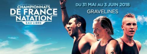 Championnats de France d'Eau Libre 2018