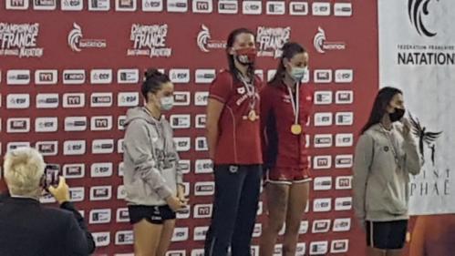 Anaïs Podevin (Médaille d'Or - 200 DOS)