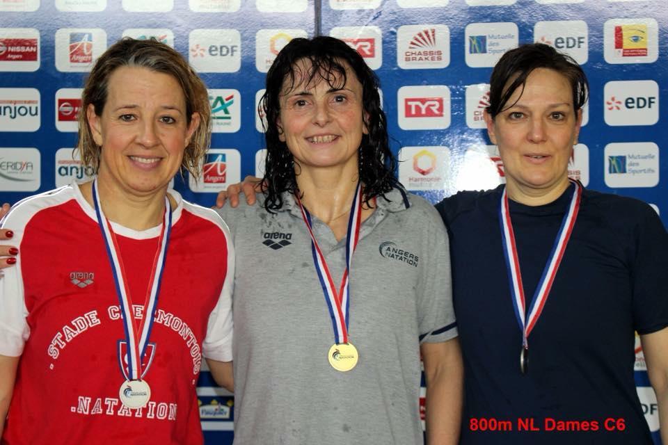 """Irène : Médaille d'ARGENT [ 800 NL :  10 ' 32 """" 94 ]"""