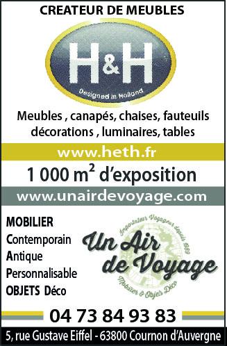 H&H  et  Air de Voyage Clermont-Ferrand