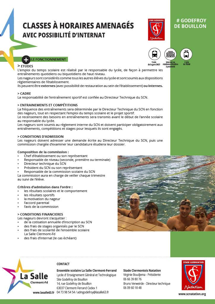 Partenaire : Ensemble scolaire LA SALLE Clermont-Ferrand