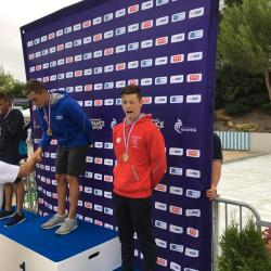 """Théo CACHEUX (Médaille de Bronze du 1500 m - 15""""47""""67)"""