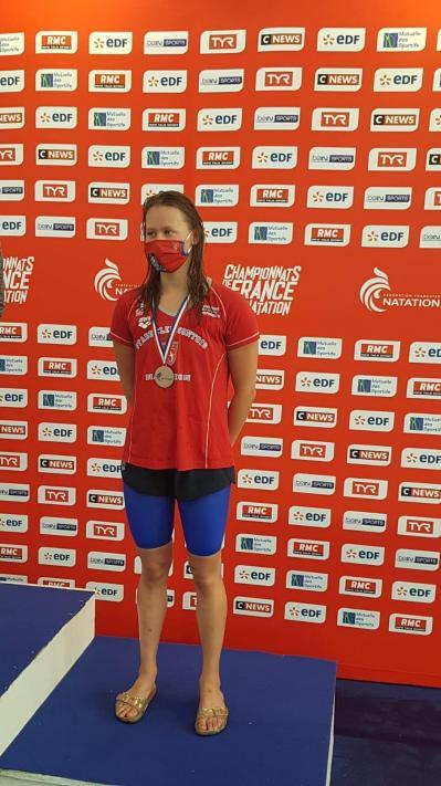 Anaïs Médaille de Bronze 200 DOS