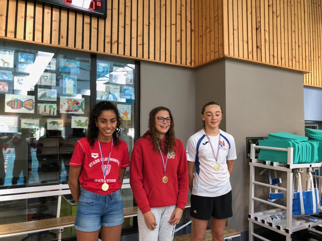 Inès MESSOUDI  (Médaille d'Argent) : Natathlon : Finale Régionale - Valence -   22 au 24 juin 2018