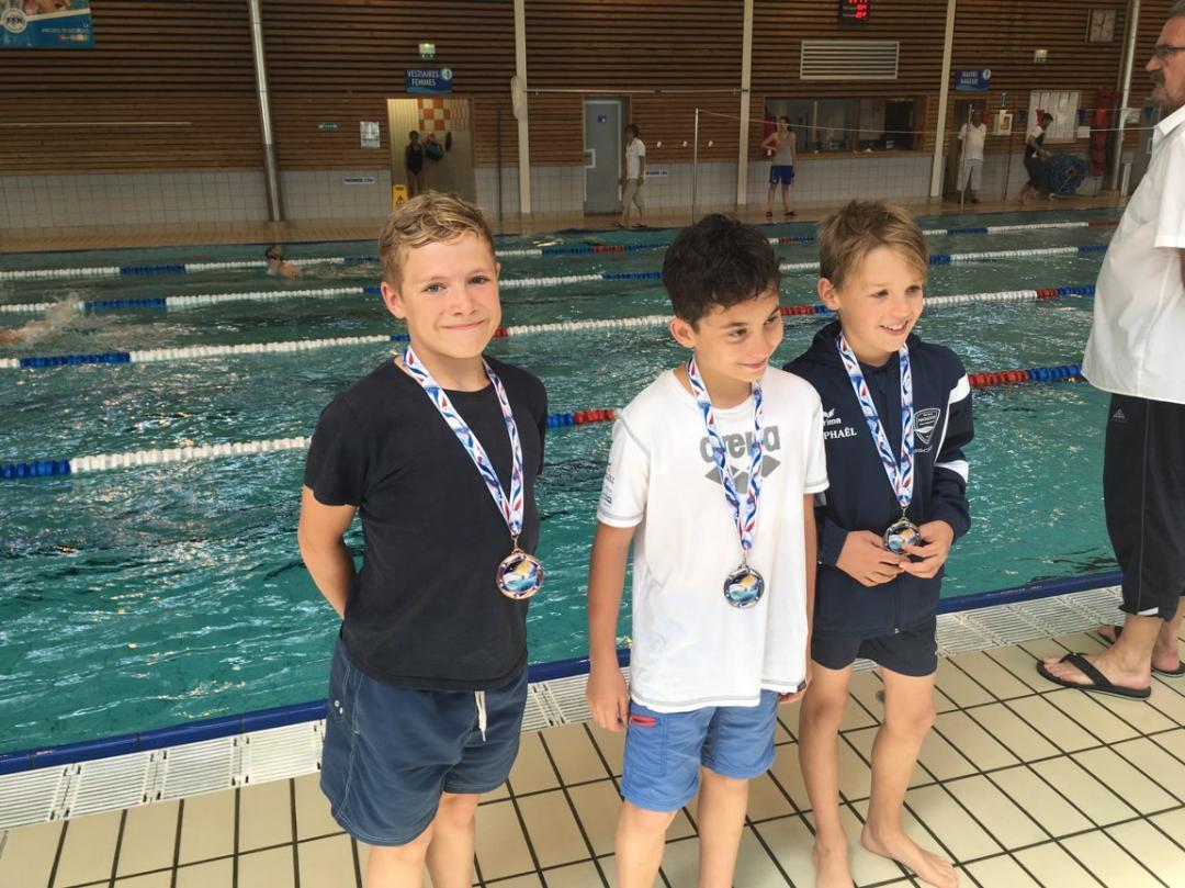 Alfred SEIGNOL (Médaille d'Argent - Finale Départementale Natathlon  - ANCIZES -24 juin 2018)