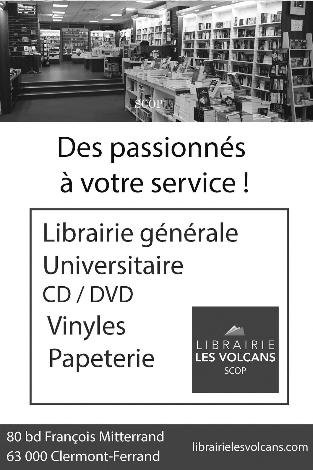 Librairie des volcans