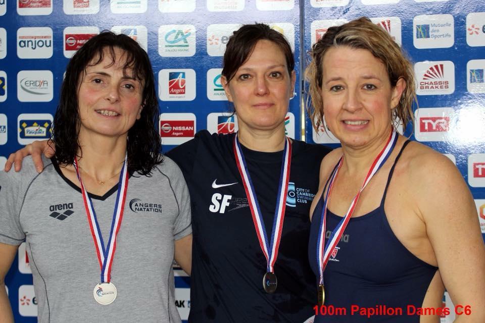 """Irène : Médaille d'OR [ 100 Papillon: 1' 12"""" 81 ]"""