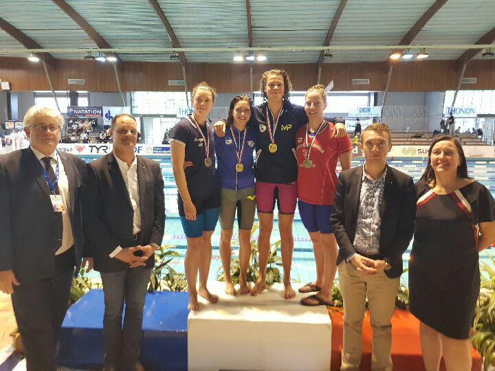 Chloé SABATIER (Médaille de Bronze - 200 4N)