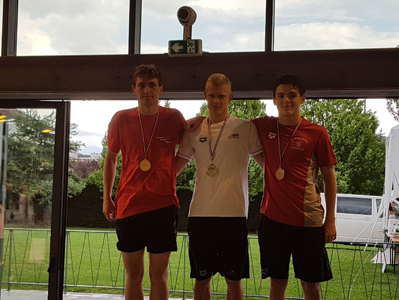 "Adam BOUDJEMA  - Médaille de Bronze - 200 PAP - 2'13""61"