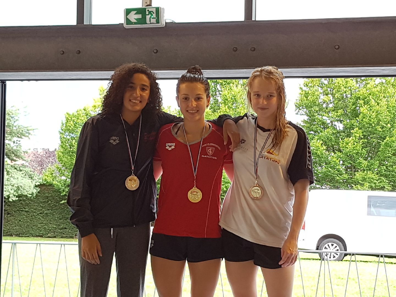 "Manon ROUMIGUIE - Médaille d'Or - 200 BRA - 2'45""61"