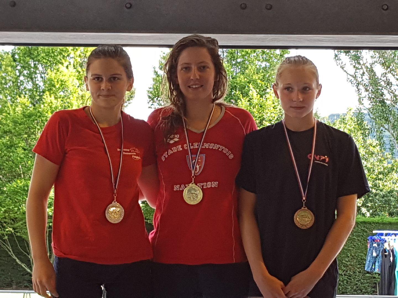 "Chloé SABATIER - Médaille d'Or - 1500 NL - 18'08""96"