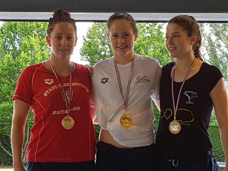 """Chloé SABATIER - Médaille d'Argent -  800 NL - 9'29""""00"""