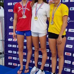 Juliette DREVET (Médaille d'Argent - 400 4N - Catégorie: Jeunes)